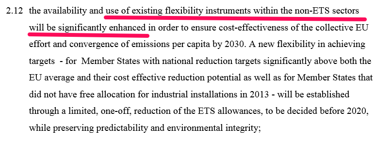 Text of EU Council Conclusions on the 2030 Climate and Energy Package, October 2014